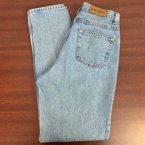 VTG Ann Taylor Mom High-Waist Jeans 100% Cotton